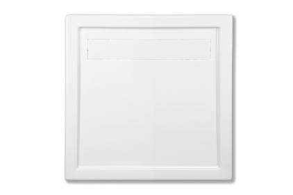 Піддон акриловий квадратний CAMPINOS 90х90х6.5 + стелаж (3.081)