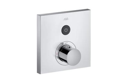 Термостат на 1 потребителя Axor ShowerSelect Square скрытого монтажа Chrome 36714000