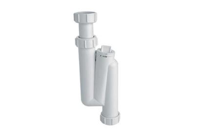 Сифон для умывальника вертикальный трубный (11/4х32) HC3 с ревизией