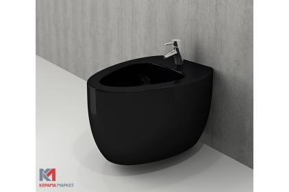 Биде подвесное ETNA глянцевое черное (1117-005-0120)