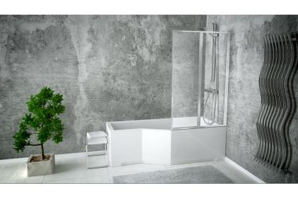 Ванна акрилова INTEGRA 150х75 Права (соло) без ніг