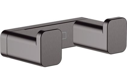 AddStoris Гачок подвійний 3.6 х1.6 x 6.6 см Brushed Black (41755340)