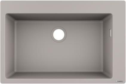 Кухонна мийка S510-F660 770х510 Concretegrey (43313380)