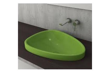 Умывальник ETNA 58.5x45.8 глянцевый фисташково-зеленый (1112-022-0125)