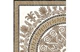 2А1810 MEANDER 40х40 (плитка для підлоги і стін, декор rosette бежевий)