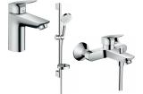Набір змішувачів EcoSmart для ванни Logis 100 (71104+7140+26553400) 20200008