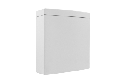 ARQUITECT Зливний бачок білий: підключення верхнє/заднє, ліве/праве + арматура (100048255)