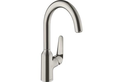 Смеситель M421-H220 для кухни (71802800) Stainless Steel Finish