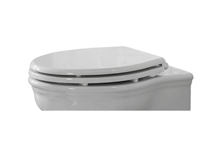 ANTIC Сидіння для унітазу біле/хромоване (100233988)