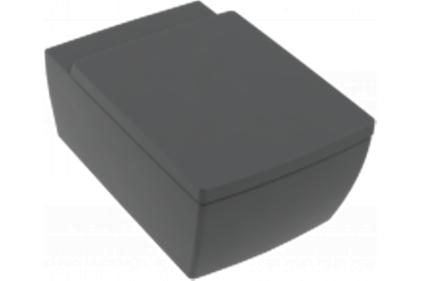 MEMENTO 2.0 Унитаз подвесной 375x560 mm Graphite (4633R0I4) Ceramic Plus