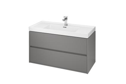 Шкафчик под умывальник КРЕА 100 см, цвет - серый матовый