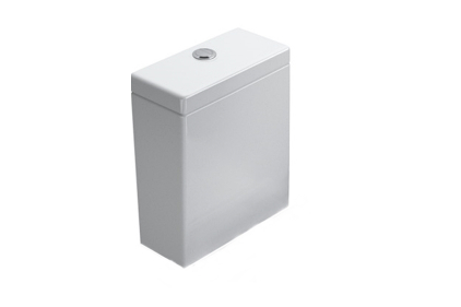 ZERO Зливний бачок для унітазу, білий 1CMSZ00