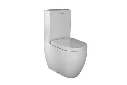 ARQUITECT Унітаз підлоговий білий 640х365 мм з кріпленням та направляючим виходом (100048261)