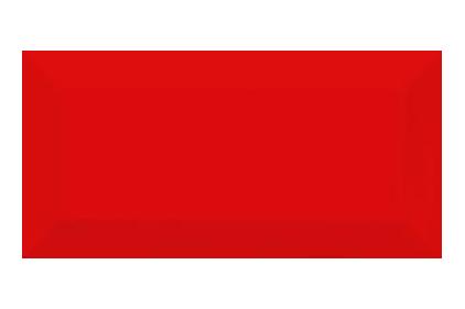 469061 METROTILES 10х20 (стена красная)