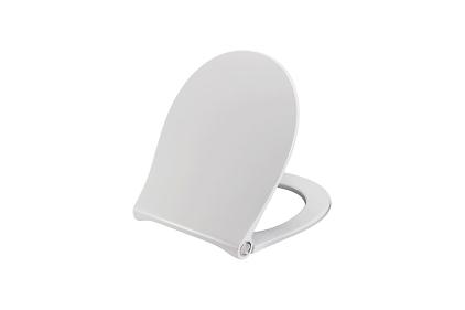 ACRO COMPACT Сидіння для унітазу з функцією Soft-Close біле (100268652)
