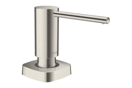 Дозатор кухонный A71 врезной для моющего средства 500 ml, цвет Stainless Steel (40468800)