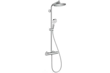 Душова система Crometta S Showerpipe 240 1jet з термостатом (27267000)