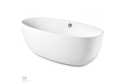 Ванна акрилова вільностояча VIRGINIA 170х80 + система кріплення + сифон + регуляція ножками (А24Т438000)