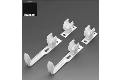 Комплект настінного кріплення 3 x SMB2T для Charleston H 1501-2200 мм (173619) RAL9005