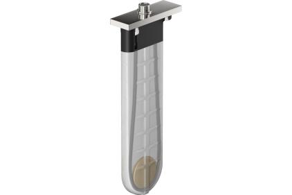Шланг для лійки SBox Square 1,45 м врізний в борт ванни хромований (28010000)