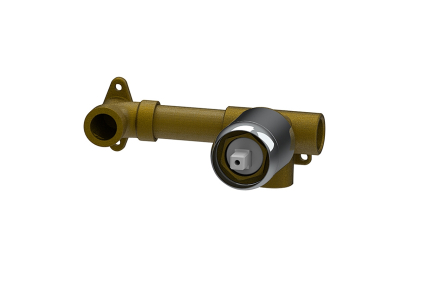 TONO Внутрішня частина вбудованого одноричажного змішувача прихованого монтажу для умивальника (100190229)