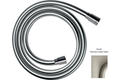 Шланг для душа AXOR 1.25 м. Stainless Steel Optic 28622800