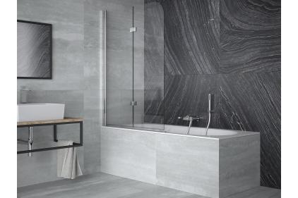 Шторка для ванни Avigo 2S 100x145 прозора