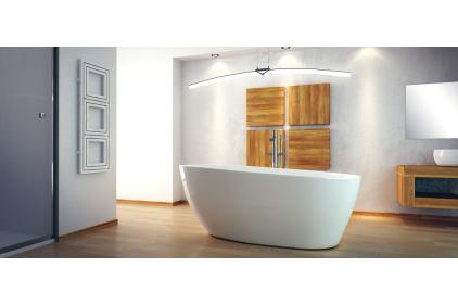 Ванна GOYA ретро 160х70 з сифоном клік-клак