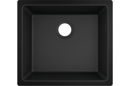 Кухонна мийка S510-U450 під стільницю 500х450 Graphiteblack (43431170)