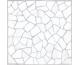 8F0730 MOSAIC 30х30 (плитка для підлоги і стін, біла)