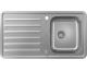 Кухонна мийка S4113-F340 на стільницю 915х505 з сифоном automatic (43337800) Stainless Steel