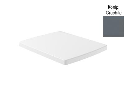 MEMENTO 2.0 Сидение на унитаз SoftClosing и QuickRelease, Graphite (8M24S1I4) CeramicPlus