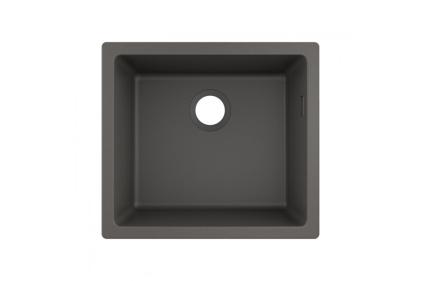 Кухонна мийка S510-U450 під стільницю 500х450 Stonegrey (43431290)