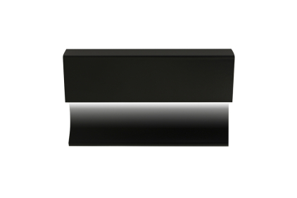 Декоративний плінтус PRO-SKIRTING LED BLACK 6х250х1,2