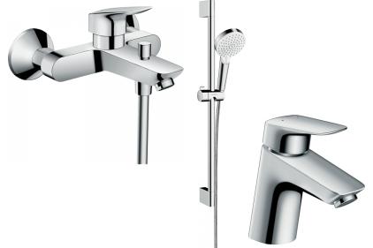 Набір змішувачів EcoSmart для ванни Logis 70 (71078+7140+26534400) 20200009