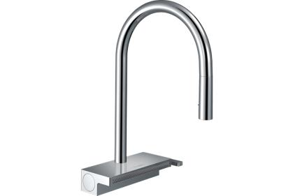Змішувач Aquno Select 170 3jet кухонний з витяжним виливом (73837000)