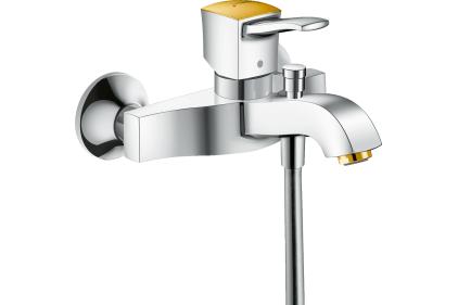 Смеситель Metropol Classic для ванны Chrome / Gold Optic (31340090)