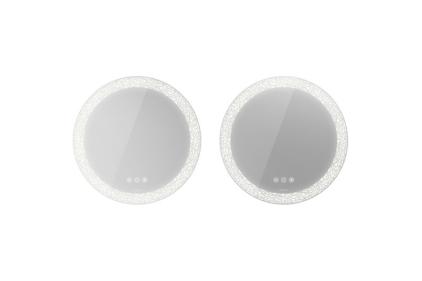HAPPY D.2 Plus Комплект дзеркал із двох штук Ø 70 см з підсвіткою та підігрівом (HP7487G)