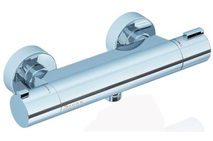 TE 072.00/150 Смеситель термостатический для душа настенный 150 мм X070051