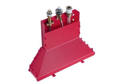 Скрытая часть для смесителя на ванну 3 отверстия (13437180)