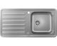 Кухонна мийка S4113-F400 на стільницю 975х505 з сифоном automatic (43338800) Stainless Steel