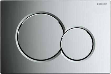 Кнопка смыва Sigma 01 хромированная глянцевая (115.770.21.5)