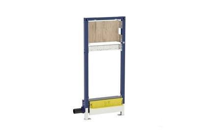 Душовий елемент (трап) Duofix з основою для монтажу змішувача, висотою 130 см, випуск 50 мм, низька висота (111.580.00.1)