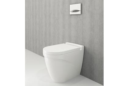 Унитаз напольный TAORMINA ARCH + сиденье дюропластовое (1016-001-0129 + A0300-001)