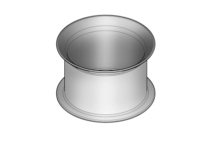 COMPLEMENTOS Зливна муфта 2 см, хромована (100043169)