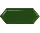 CUPIDON DARK GREEN BRILLO BISEL 10х30 (плитка настінна)