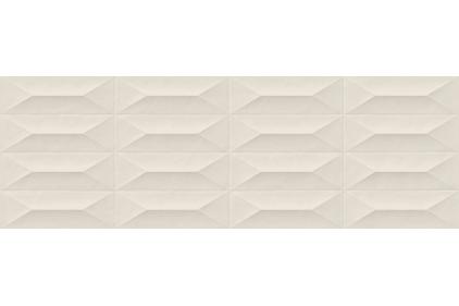 M4KR COLORPLAY CREAM STRUTTURA CABOCHON 3D RET 30x90 (плитка настінна)