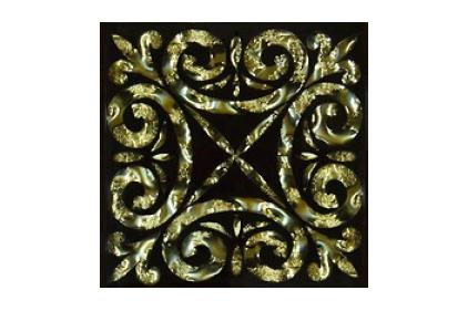 Тако стекло Классик: золото рифленое 775 66х66 / 8