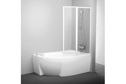 Штора для ванни VSK2 Роса II 170 R Білий Транспарент 76PB0100Z1
