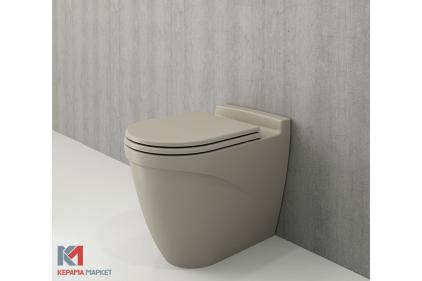 Унитаз напольный TAORMINA ARCH кашемировый + сиденье дюропластовое (1016-011-0128 + А0373-011)